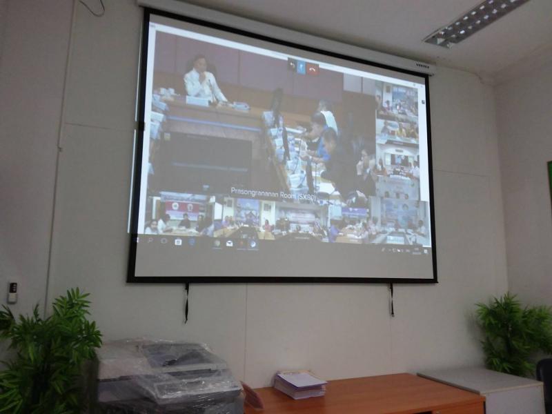 ประชุมศูนย์ปฏิบัติการกระทรวงแรงงาน (ศปก.รง.) ครั้งที่ 89/2560 -2561